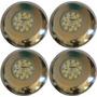 4 Refletor Inox Para Piscina Fibra Led Smd Azul + Fonte 12v Original