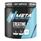 Creatina Meta Nutrition Monohidratada 500 Gr *100 Porciones*