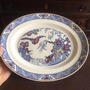 Antiga E Grande Travessa Prato Porcelana Inglesa Bristol Original