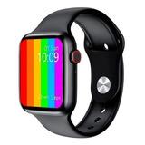Smartwatch Iwo Iwo Lite Iwo 12 Lite Series 5 1.54  Caixa 44mm  Black Pulseira  Black T8
