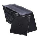 Caja Plástica Cd Slim 5.2 Mm Pack 200 Uni. Calidad Premium