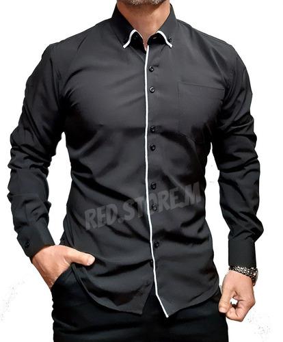 Camisa Slim Fit - Entallada (mod 1)