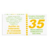 Complexo Homeopático Almeida Prado 35 Caixa 60 Comprimidos