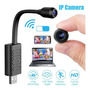 Mini Micro Camera Ip Espiã Wifi Full Hd Super Discreta Original