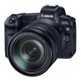 Canon Eos R 24-105mm Is Usm Kit Sin Espejo Color  Negro