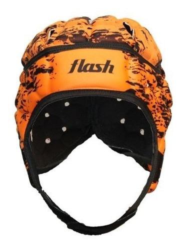 Casco Cabezal Protector Cabeza Para Rugby Hockey  Flash