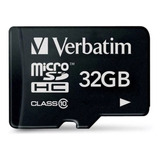 Tarjeta De Memoria Verbatim 44083 Premium Con Adaptador Sd 32gb