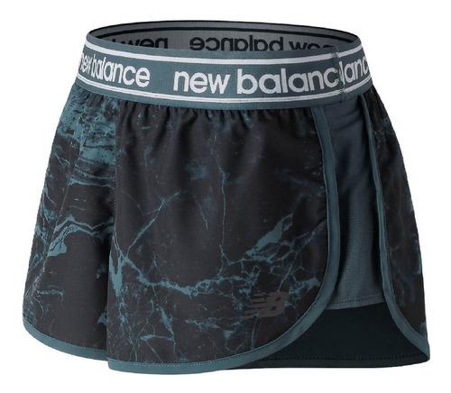 New Balance Short Dama Running - Menpi