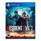 Resident Evil 2 Remake Standard Edition Capcom Ps4 Físico