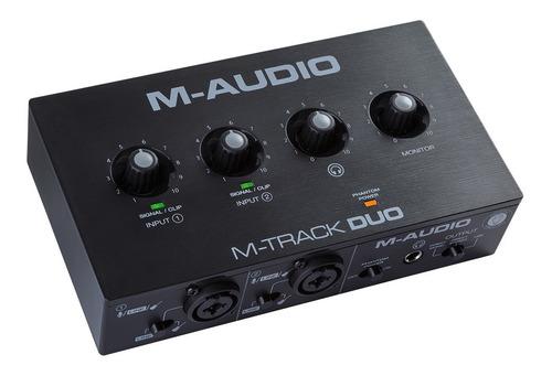 Interface M Audio M Track Duo Usb
