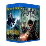 Pack Harry Potter Bluray Bd25 Latino