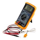 Multimetro Digital Temperatura Capacidad Frecuencia 890g