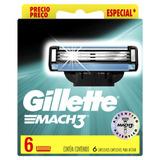 Repuestos Para Afeitar Gillette Mach3 6u