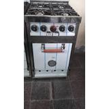 Cocina Industrial 4 Hornallas 50 Cm Y... A Medida