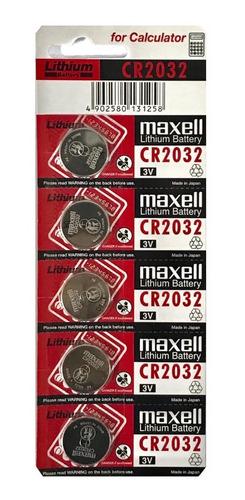 Pila 2032 5 Unidades Maxell
