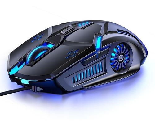 Mouse Gamer G5 Con Diseño Deportivo Y Rgb