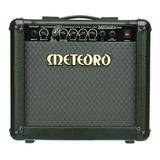 Amplificador Meteoro Nitrous Drive 15 Transistor Para Guitarra De 15w Cor Preto 110v/220v