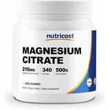 Citrato De Magnesio Importado Usa 500 G Medio Kilo