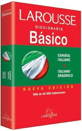 Larousse Diccionario Basico Español Italiano - Italiano Spag