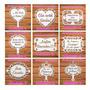 Kit 2 Placas Casamento Mdf - Lá Vem A Noiva- Personalizada Original