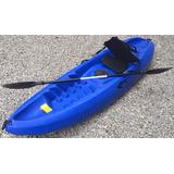 Kayak Sunset P/1 Persona Con Accesorios Y Documentos