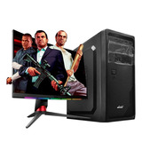 Pc Armada Amd Dual Core 4gb Ram Disco Solido 240gb