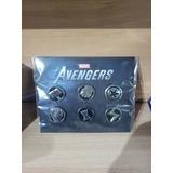 Set 6 Pines Marvel Avengers Originales Zona Norte
