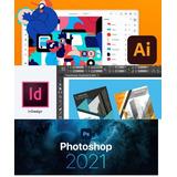 Combo Diseño X 3 Adobe Photoshop Cc 2021