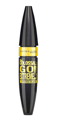 Máscara De Pestañas Maybelline The Colossal Go Extreme 9.5ml Color Intense Black