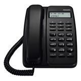 Teléfono Fijo Philips Crd150 Negro