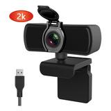 2k Cámara Webcam Usb Con Micrófono Cámara Web Full Hd 1440p