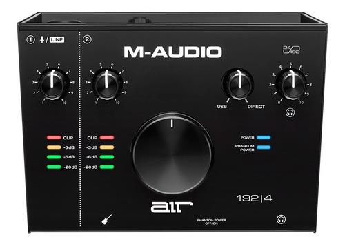 Interfaz M-audio Air 192|4 Placa De Grabacion Usb 2 In 2 Out