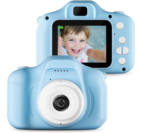 Cámara Digital Para Niños Con Tarjeta Tf De 32gb 8.0mp 1080p