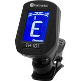 Afinador Digital Clip Cromático Th-101 Harmonics