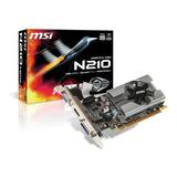 Tarjeta De Video Nvidia Msi  Geforce 200 Series 210 N210-md1g/d3 1gb