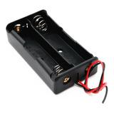 Porta Pilas Baterias Pila Bateria X2 18650 Dos Baterias Hobb