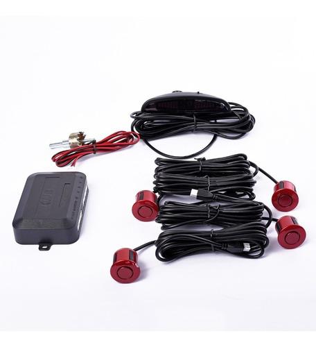 Sensor Estacionamiento Con Display Y Sonido Colores Auto 4x4