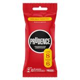 Preservativo Masculino Lubrificado Prudence Pacote Leve 8 Pague 6 Unidades