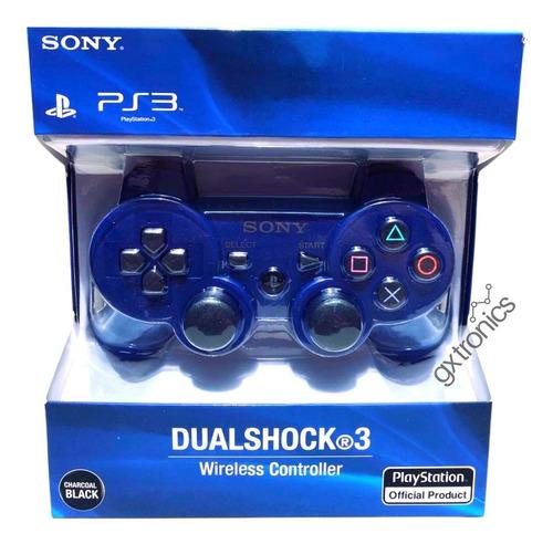 Joystick Inalámbrico Sony Dualshock 3 Blue Ps3