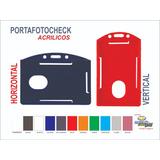 Portafotocheck Acrilicos