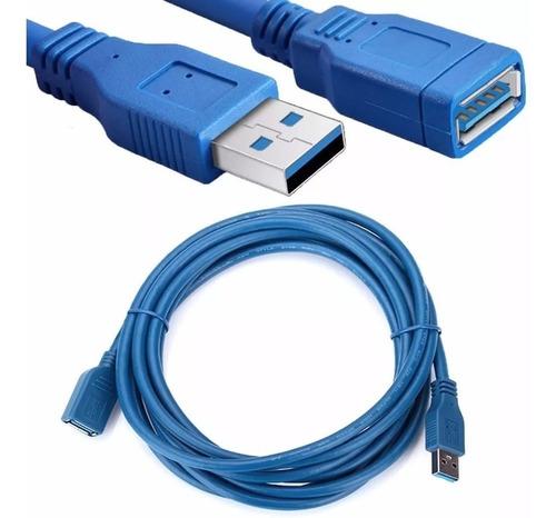 Cable Extensión Usb 3.0 Macho A Hembra 5 Metros High Speed