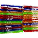 Flautas De Colores Con Forro Y Personalizada O Marcacion