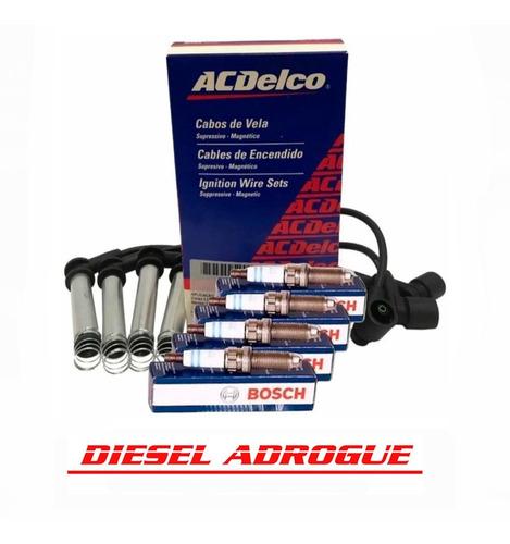 Kit Cables+bujias Original Gm Acdelco Corsa Classic 1.4 1.6