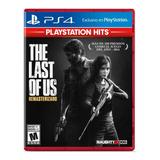 The Last Of Us Remastered Ps4 Formato Físico Original