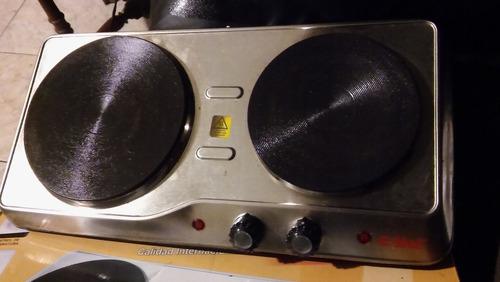 Anafe Electrico 2 Hornallas Eiffel E631ss