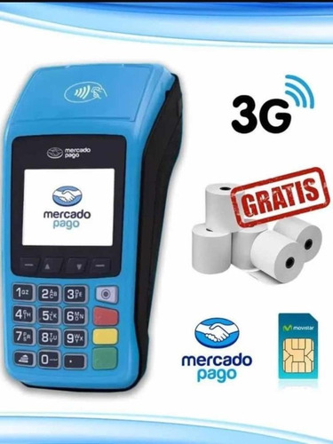Mercado Point Plus Lector De Tarjetas Posnet Chip 3g Wifi