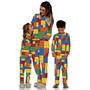 Pijama  Adulto Brinquedos Monta Monta 4 Peças Original