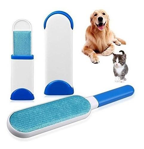 Peine Removedor De Pelos Para Perros Gatos Muebles 2 En 1