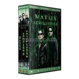 Matrix Trilogia Pack Saga Completa 3 Dvd Colección Latino