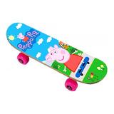 Skate Mini Peppa Pig Original Patineta Chica P/ Niño El Rey